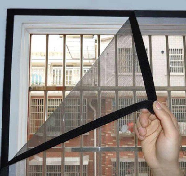flexible window screen velcro